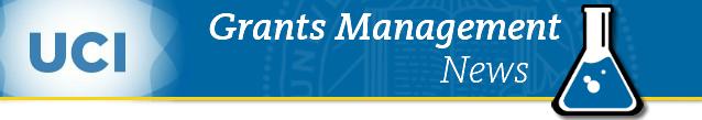 Grants Management News Header