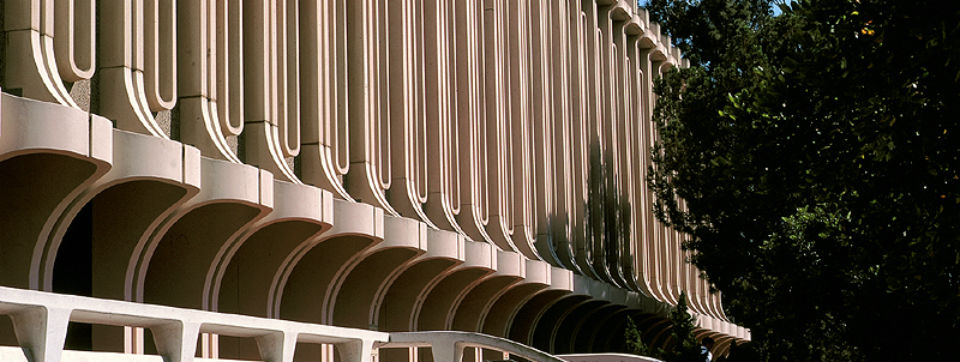 Langson Library exterior