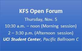 Date time and location for KFS Open House - also listed in text