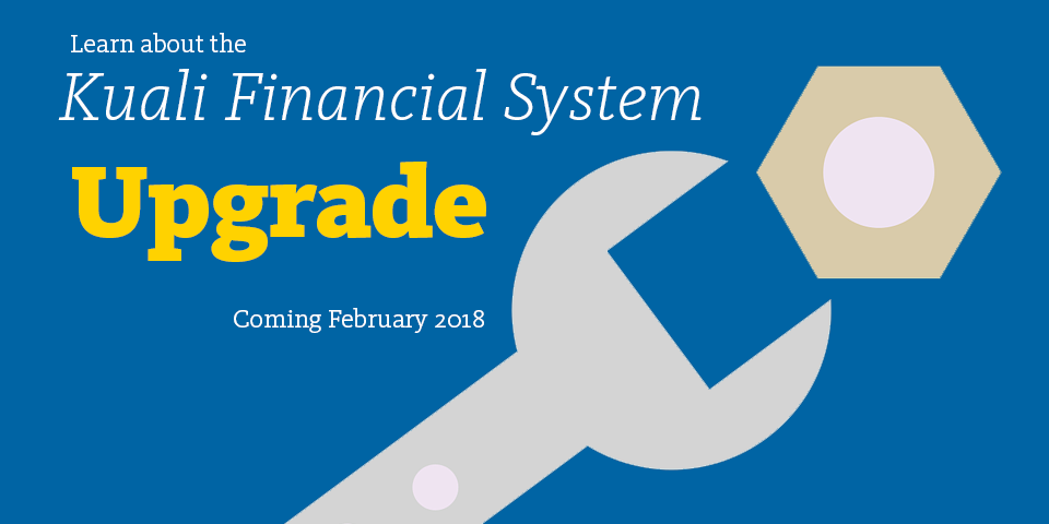 KFS Upgrade is coming in February 2018