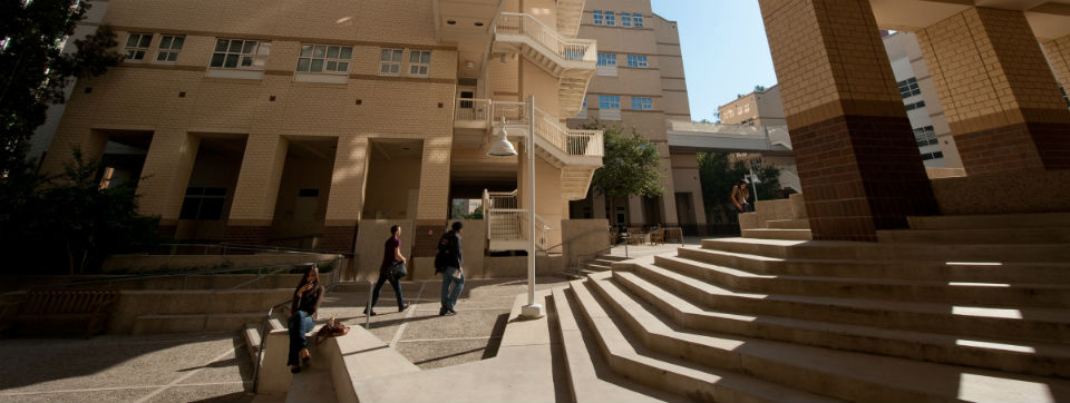 Social Sciences courtyard