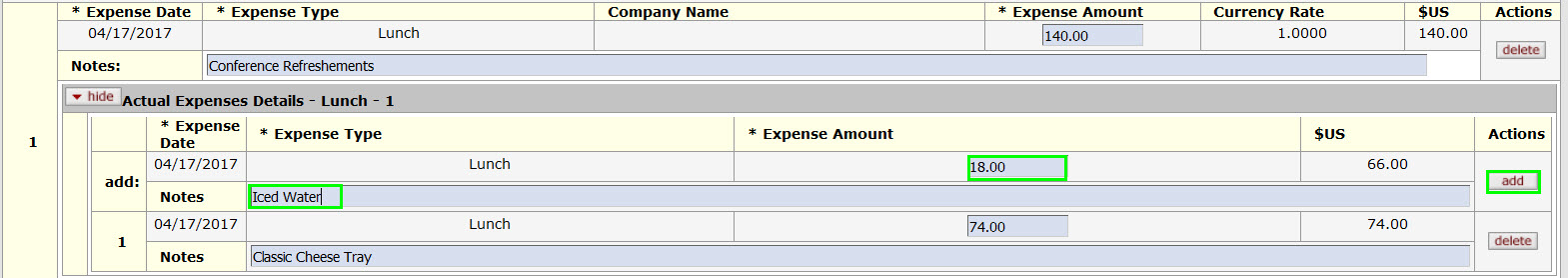wagepoint how to add expense reimbursement