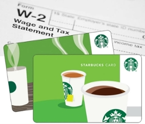 w2 from starbucks  First Winner Selected! Two Chances Left to Win a $8 ...